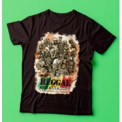 T-shirt Reggae Ambassadors Légende