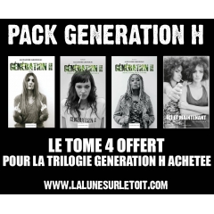 GENERATION H 4 livres